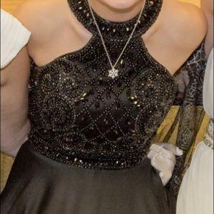 Black prom dress!